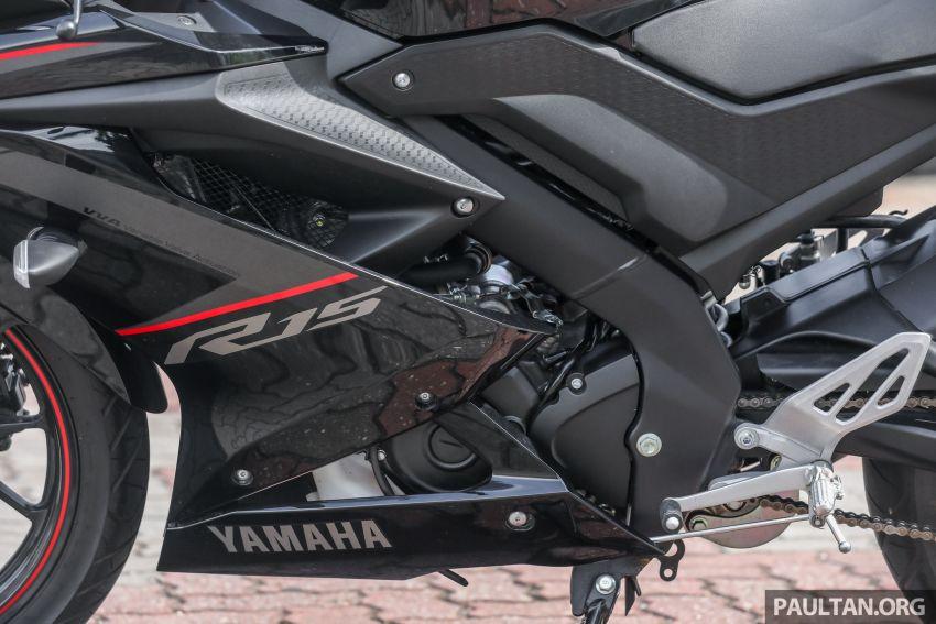 TUNGGANG UJI: Yamaha YZF-R15 – untuk 'kaki roket' Image #881553