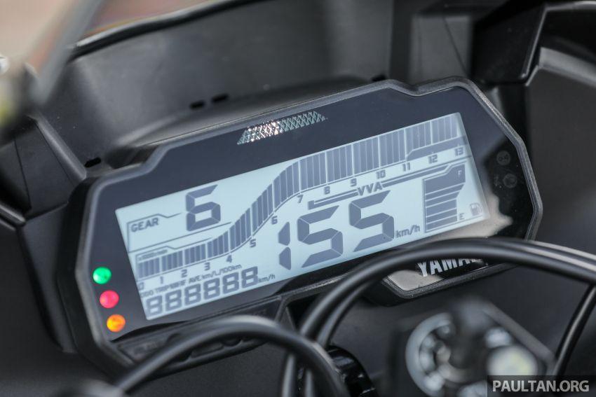 TUNGGANG UJI: Yamaha YZF-R15 – untuk 'kaki roket' Image #881564