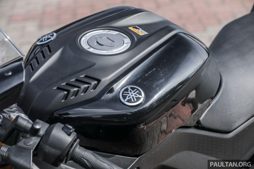 TUNGGANG UJI: Yamaha YZF-R15 – untuk 'kaki roket' Image #881567