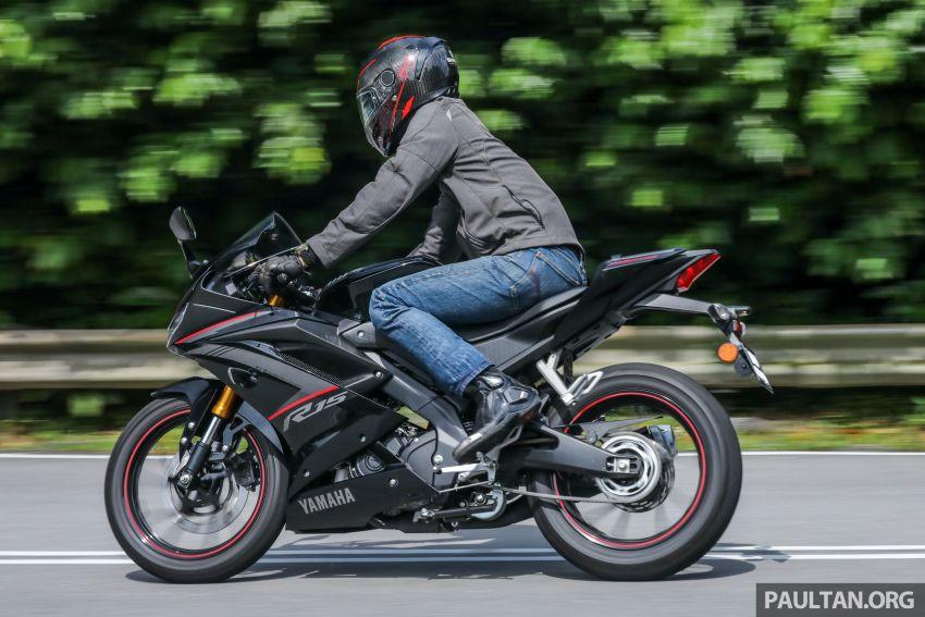 TUNGGANG UJI: Yamaha YZF-R15 – untuk 'kaki roket' Image #881580