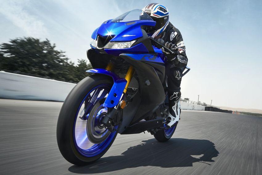 Yamaha R125 masuk pasaran Eropah, enjin VVA 125 cc Image #869600