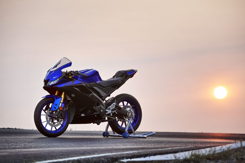 Yamaha R125 masuk pasaran Eropah, enjin VVA 125 cc Image #869644