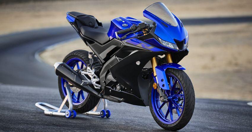 Yamaha R125 masuk pasaran Eropah, enjin VVA 125 cc Image #869645