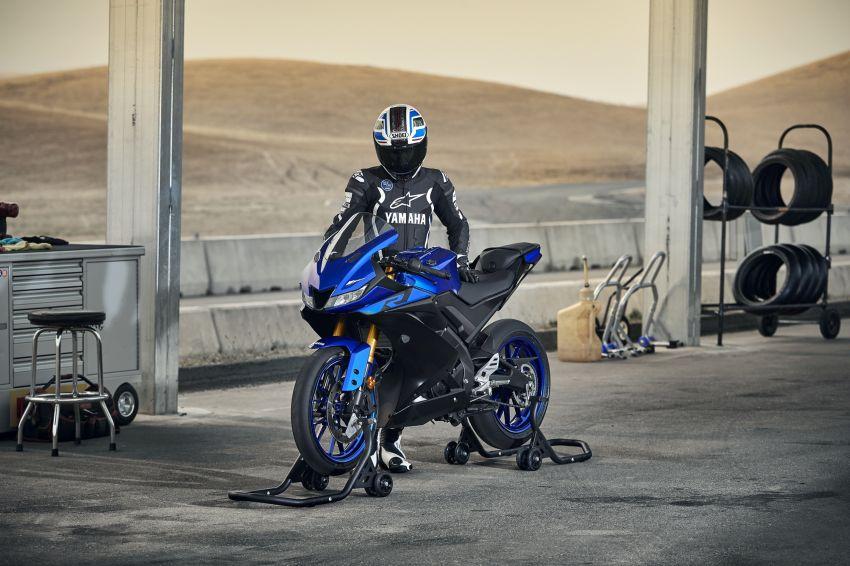 Yamaha R125 masuk pasaran Eropah, enjin VVA 125 cc Image #869647