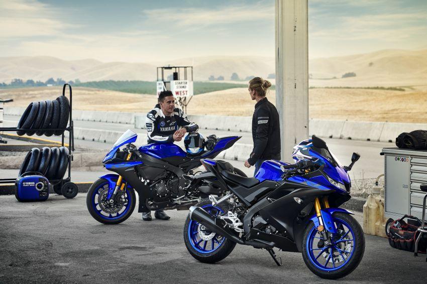 Yamaha R125 masuk pasaran Eropah, enjin VVA 125 cc Image #869650