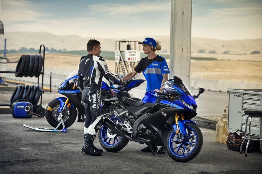 Yamaha R125 masuk pasaran Eropah, enjin VVA 125 cc Image #869652
