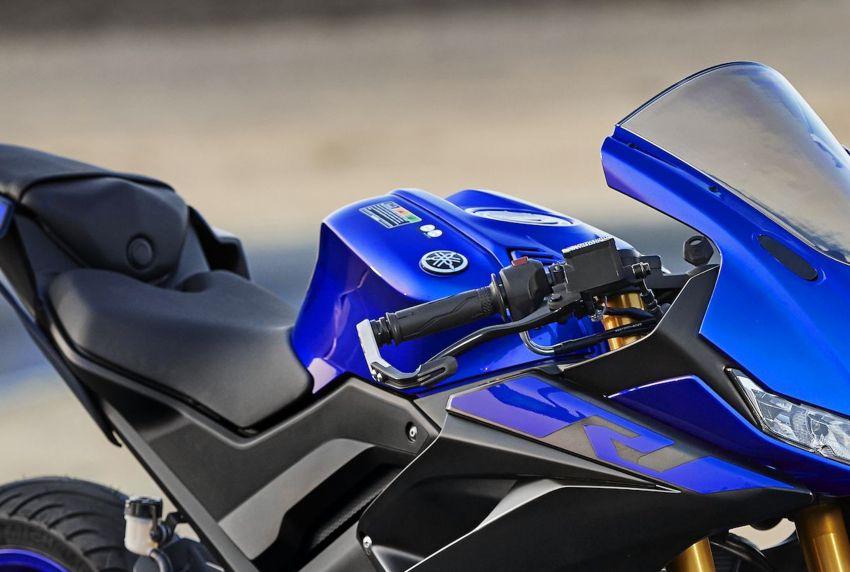 Yamaha R125 masuk pasaran Eropah, enjin VVA 125 cc Image #869654