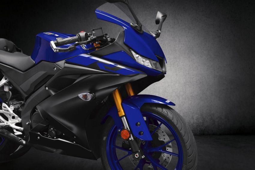Yamaha R125 masuk pasaran Eropah, enjin VVA 125 cc Image #869655