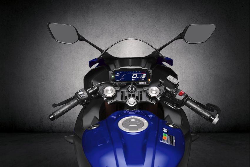Yamaha R125 masuk pasaran Eropah, enjin VVA 125 cc Image #869657
