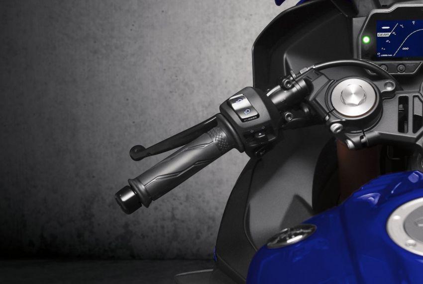 Yamaha R125 masuk pasaran Eropah, enjin VVA 125 cc Image #869659