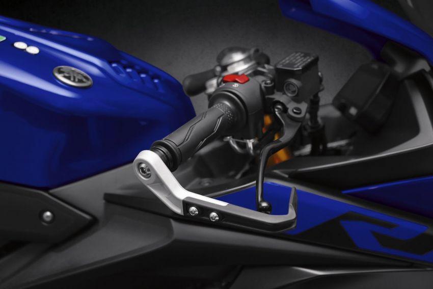 Yamaha R125 masuk pasaran Eropah, enjin VVA 125 cc Image #869661