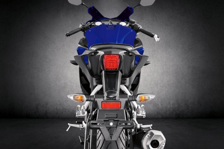Yamaha R125 masuk pasaran Eropah, enjin VVA 125 cc Image #869663
