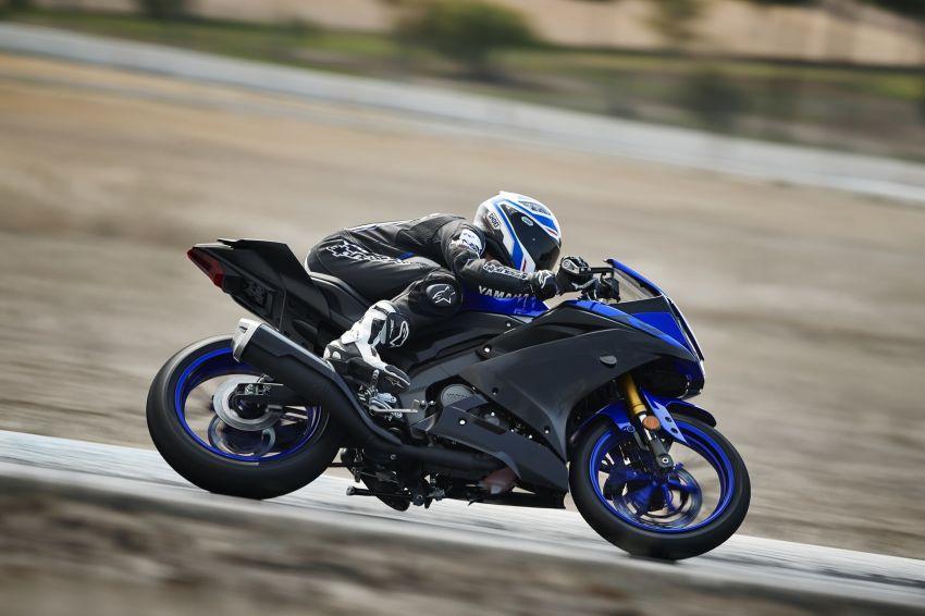 Yamaha R125 masuk pasaran Eropah, enjin VVA 125 cc Image #869608