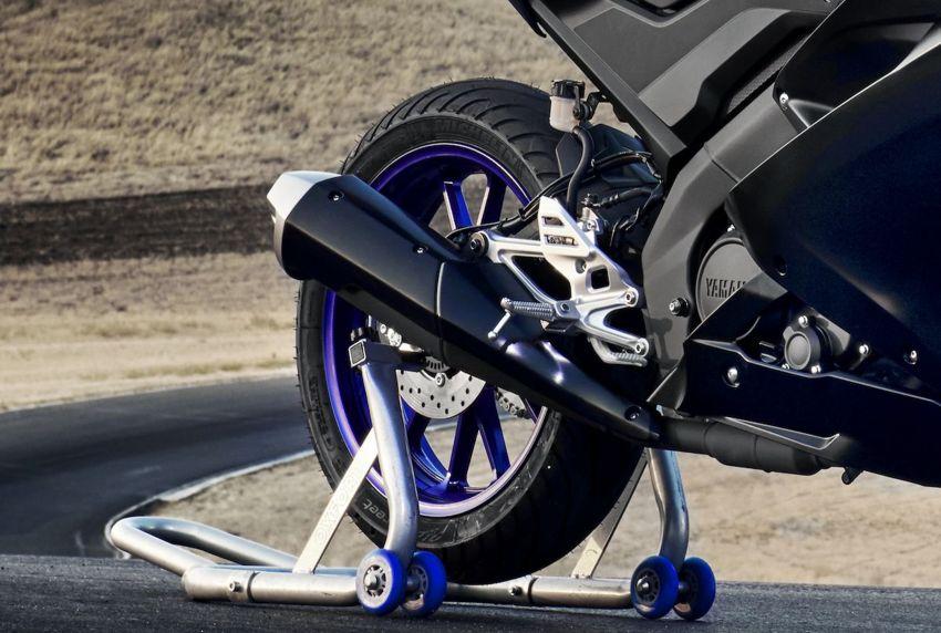 Yamaha R125 masuk pasaran Eropah, enjin VVA 125 cc Image #869666