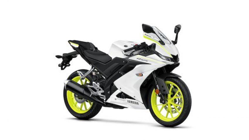 Yamaha R125 masuk pasaran Eropah, enjin VVA 125 cc Image #869667
