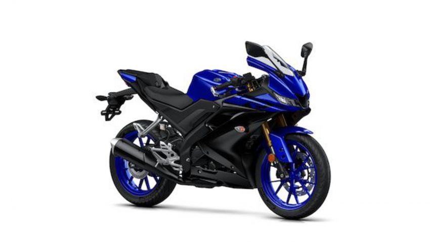 Yamaha R125 masuk pasaran Eropah, enjin VVA 125 cc Image #869671
