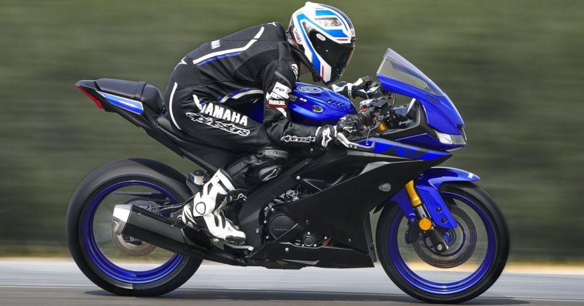 Yamaha R125 masuk pasaran Eropah, enjin VVA 125 cc Image #869613