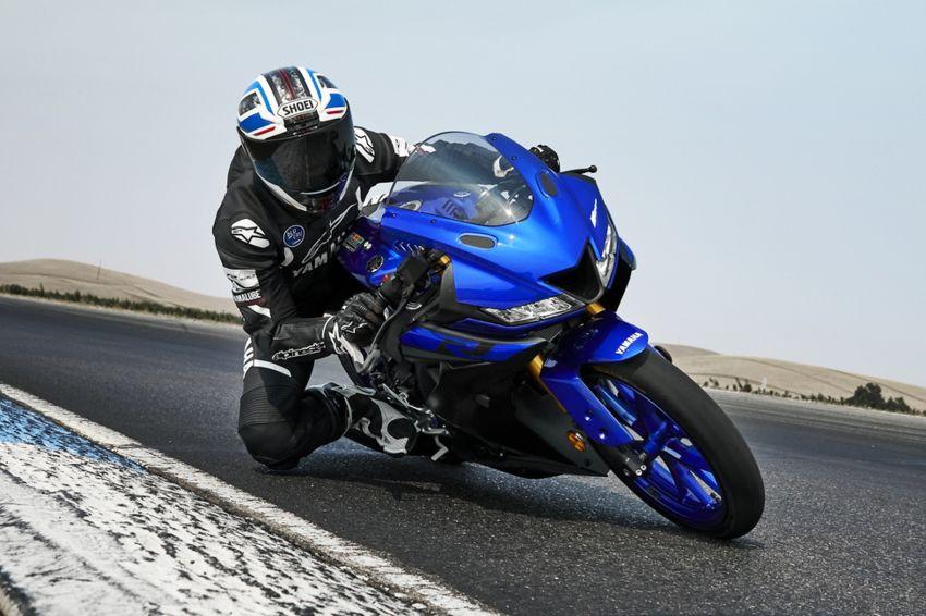 Yamaha R125 masuk pasaran Eropah, enjin VVA 125 cc Image #869617