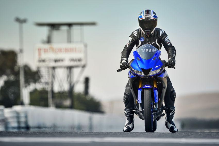 Yamaha R125 masuk pasaran Eropah, enjin VVA 125 cc Image #869620