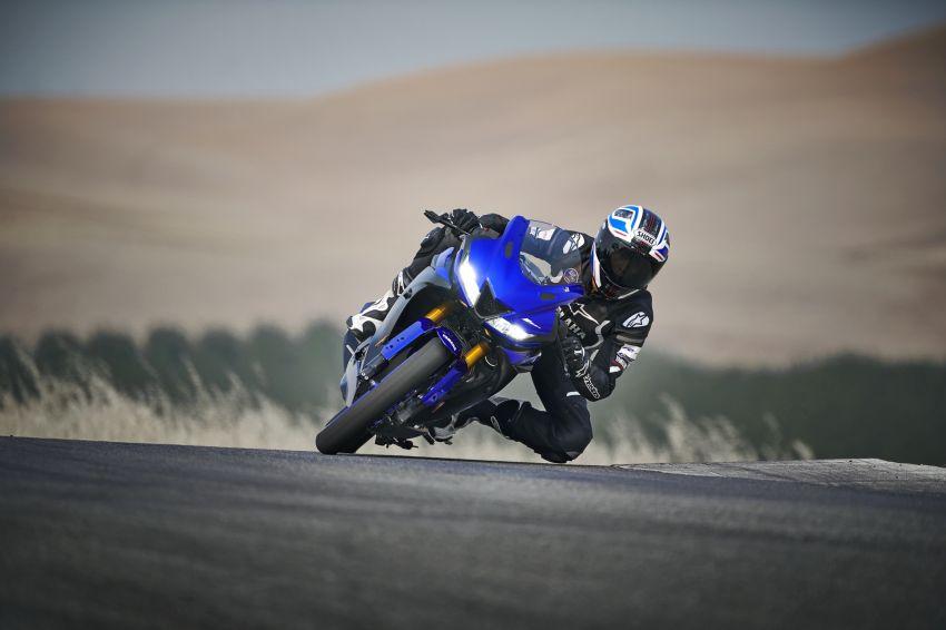 Yamaha R125 masuk pasaran Eropah, enjin VVA 125 cc Image #869625