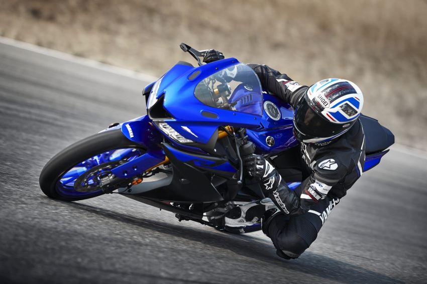 Yamaha R125 masuk pasaran Eropah, enjin VVA 125 cc Image #869630