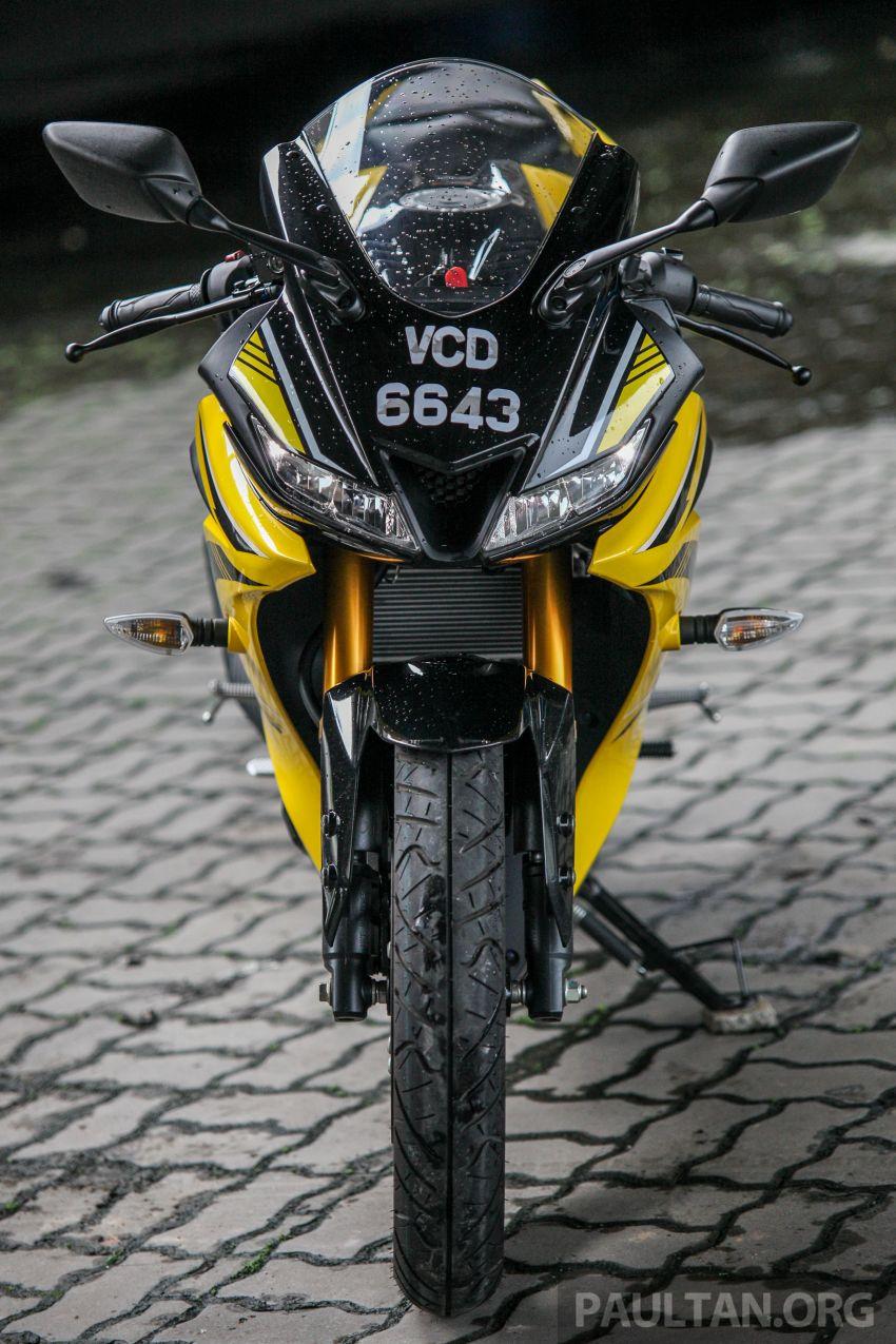 TUNGGANG UJI: Yamaha YZF-R15 – untuk 'kaki roket' Image #881610