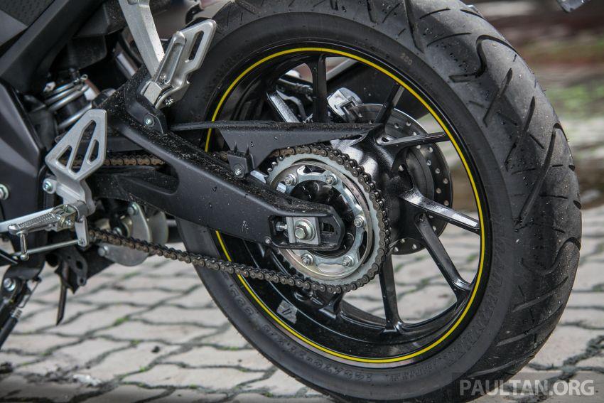 TUNGGANG UJI: Yamaha YZF-R15 – untuk 'kaki roket' Image #881612