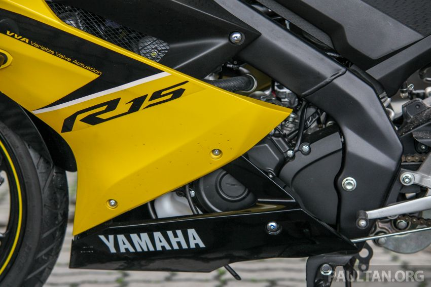 TUNGGANG UJI: Yamaha YZF-R15 – untuk 'kaki roket' Image #881615