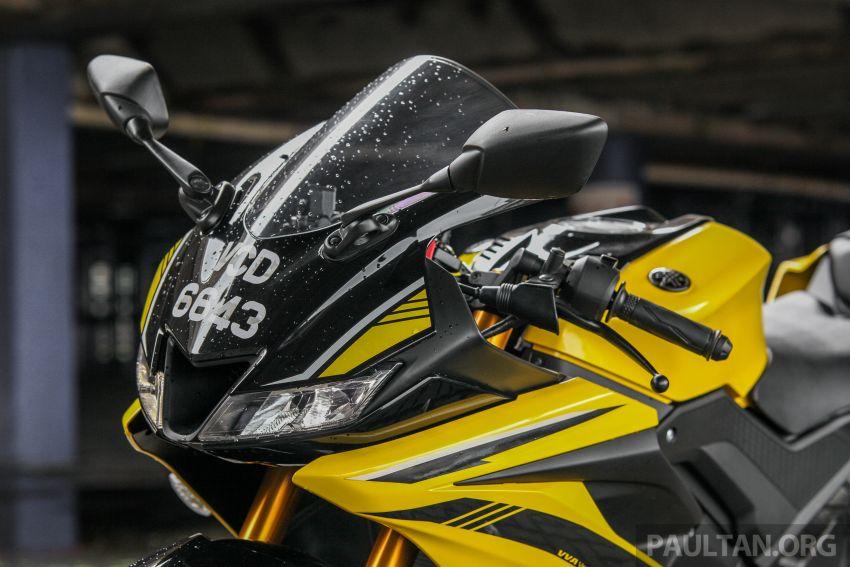 TUNGGANG UJI: Yamaha YZF-R15 – untuk 'kaki roket' Image #881616