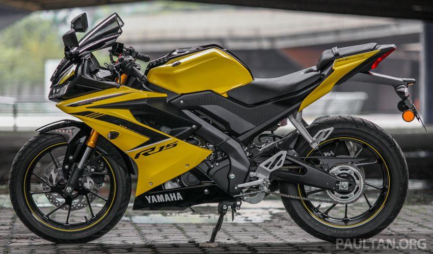 TUNGGANG UJI: Yamaha YZF-R15 – untuk 'kaki roket' Image #881591