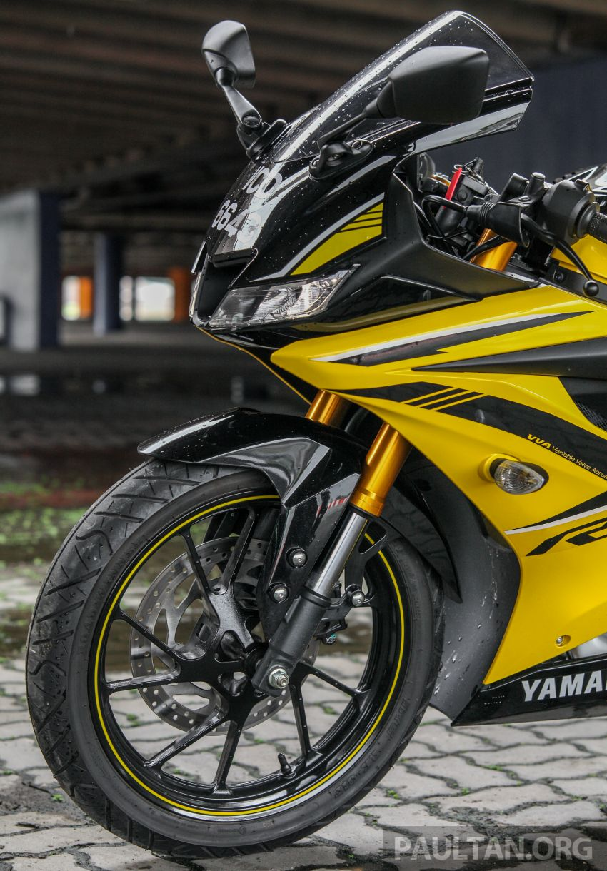 REVIEW: 2019 Yamaha YZF-R15 – lots of fun for RM12k Image #880843