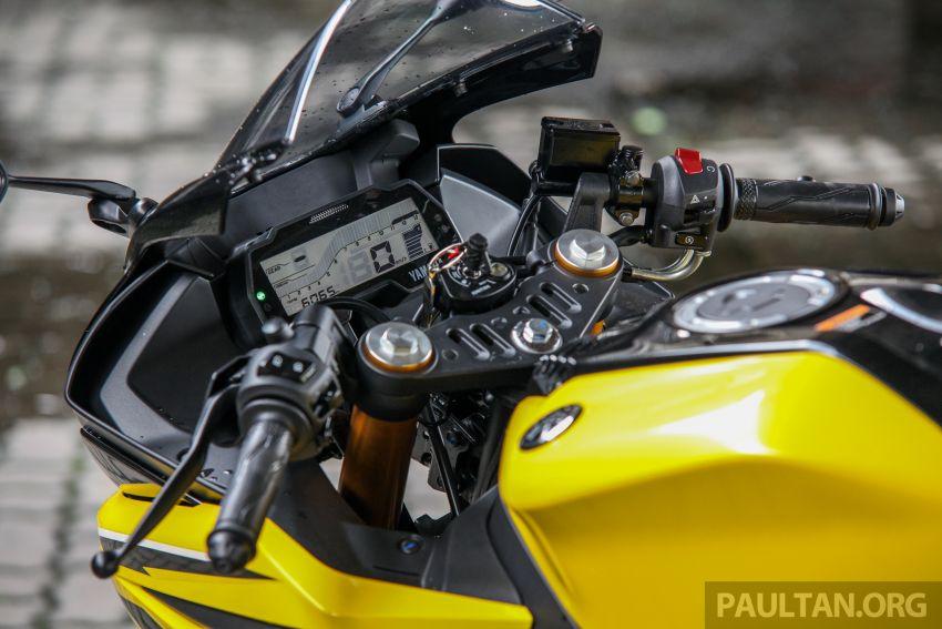 TUNGGANG UJI: Yamaha YZF-R15 – untuk 'kaki roket' Image #881620