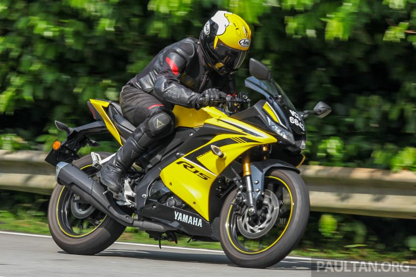 REVIEW: 2019 Yamaha YZF-R15 – lots of fun for RM12k Image #880846