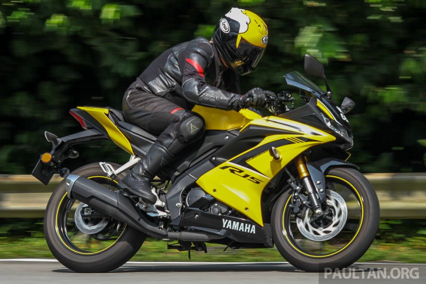 TUNGGANG UJI: Yamaha YZF-R15 – untuk 'kaki roket' Image #881622