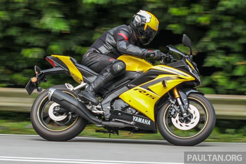 TUNGGANG UJI: Yamaha YZF-R15 – untuk 'kaki roket' Image #881623
