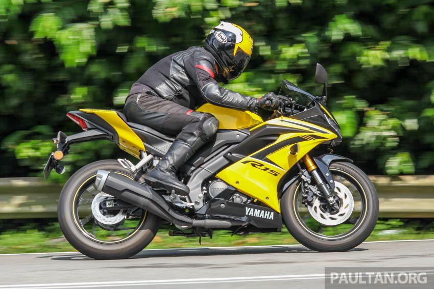 TUNGGANG UJI: Yamaha YZF-R15 – untuk 'kaki roket' Image #881624