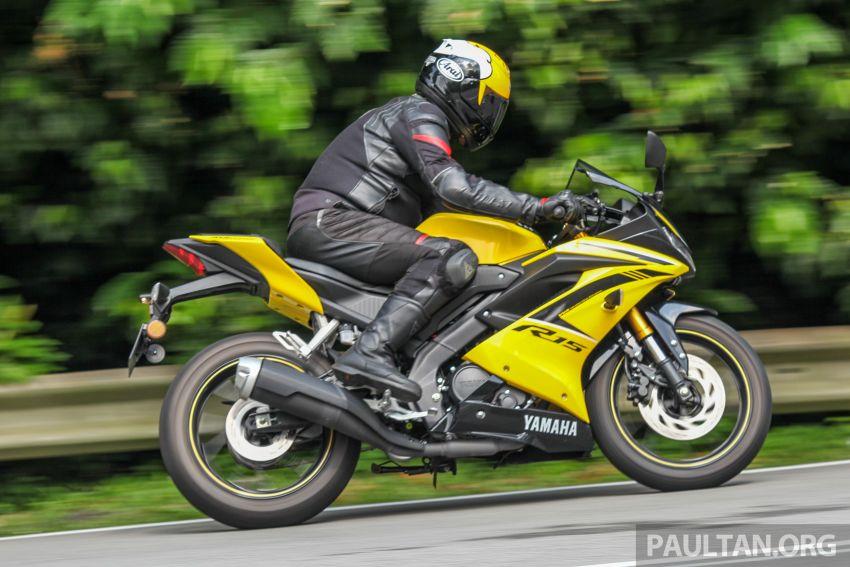TUNGGANG UJI: Yamaha YZF-R15 – untuk 'kaki roket' Image #881625