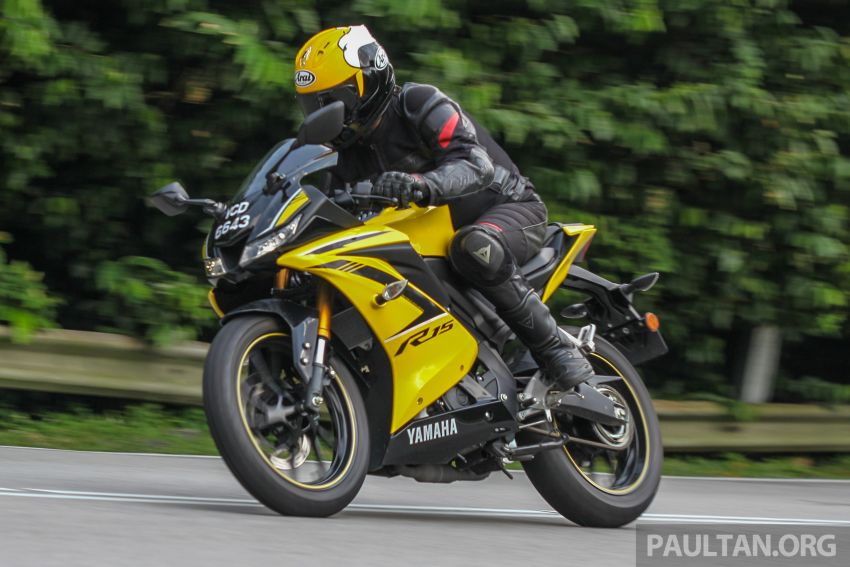REVIEW: 2019 Yamaha YZF-R15 – lots of fun for RM12k Image #880852
