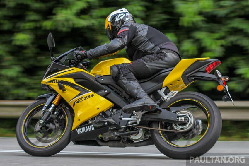 TUNGGANG UJI: Yamaha YZF-R15 – untuk 'kaki roket' Image #881629