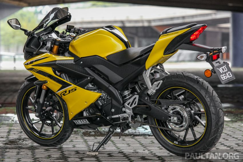 REVIEW: 2019 Yamaha YZF-R15 – lots of fun for RM12k Image #880818