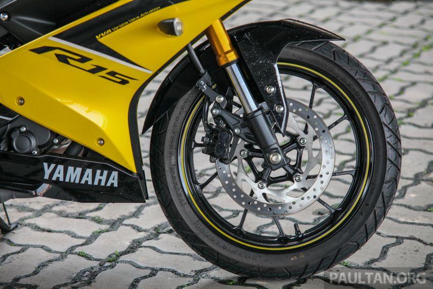 TUNGGANG UJI: Yamaha YZF-R15 – untuk 'kaki roket' Image #881595