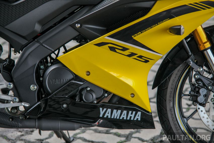 TUNGGANG UJI: Yamaha YZF-R15 – untuk 'kaki roket' Image #881596