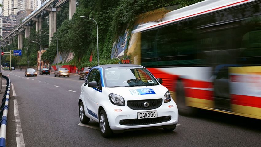 Mercedes and Geely in talks for ride-sharing in China? Image #873121