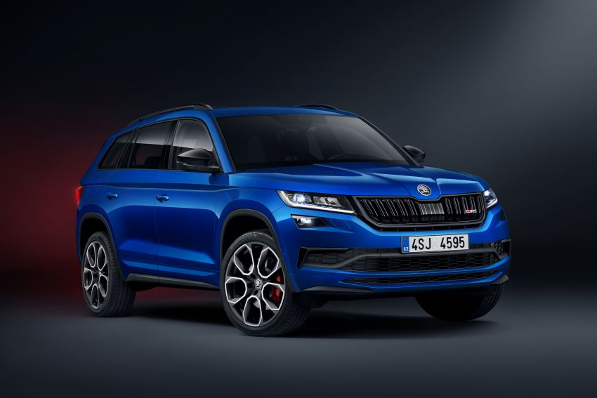 Skoda Kodiaq RS – fastest 7-seater SUV on the 'Ring Image #866732