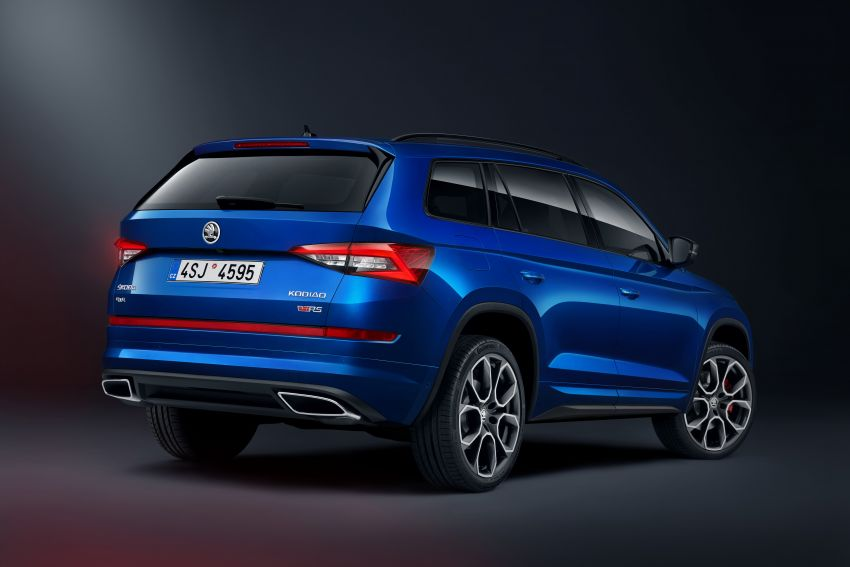 Skoda Kodiaq RS – fastest 7-seater SUV on the 'Ring Image #866734