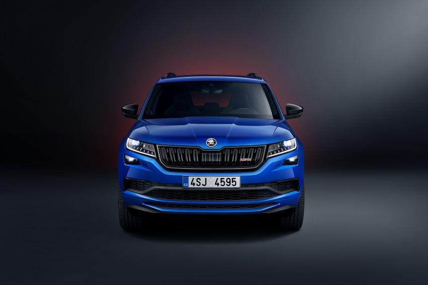 Skoda Kodiaq RS – fastest 7-seater SUV on the 'Ring Image #866736