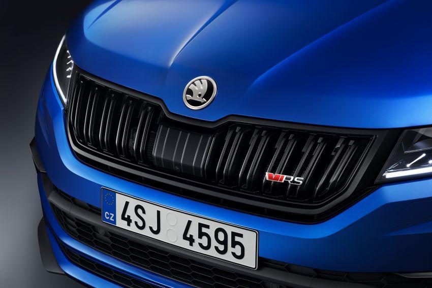 Skoda Kodiaq RS – SUV 7-tempat duduk paling pantas di Nurburgring, 2.0L diesel twin turbo, 240 PS/500Nm Image #867040