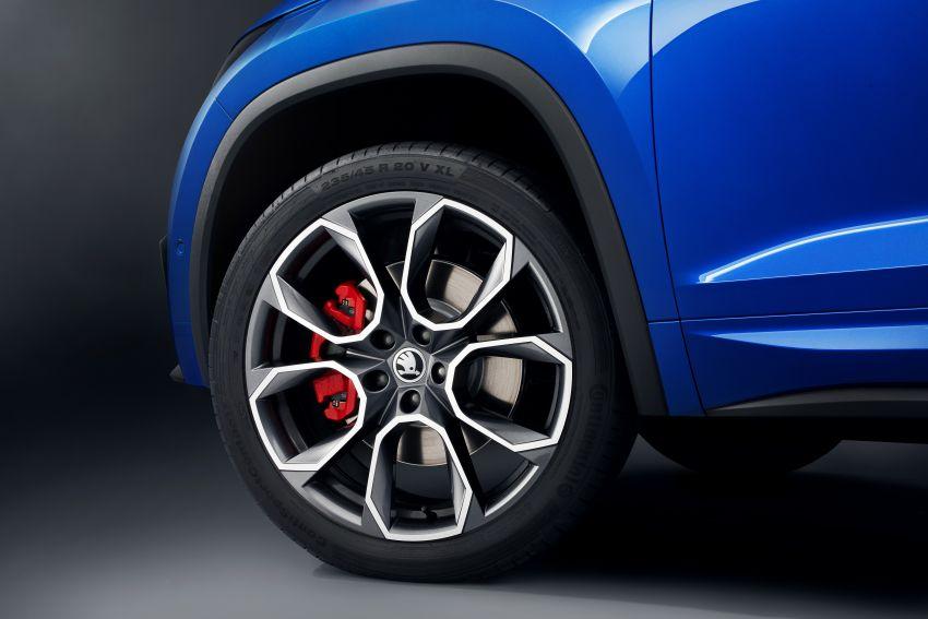 Skoda Kodiaq RS – SUV 7-tempat duduk paling pantas di Nurburgring, 2.0L diesel twin turbo, 240 PS/500Nm Image #867036