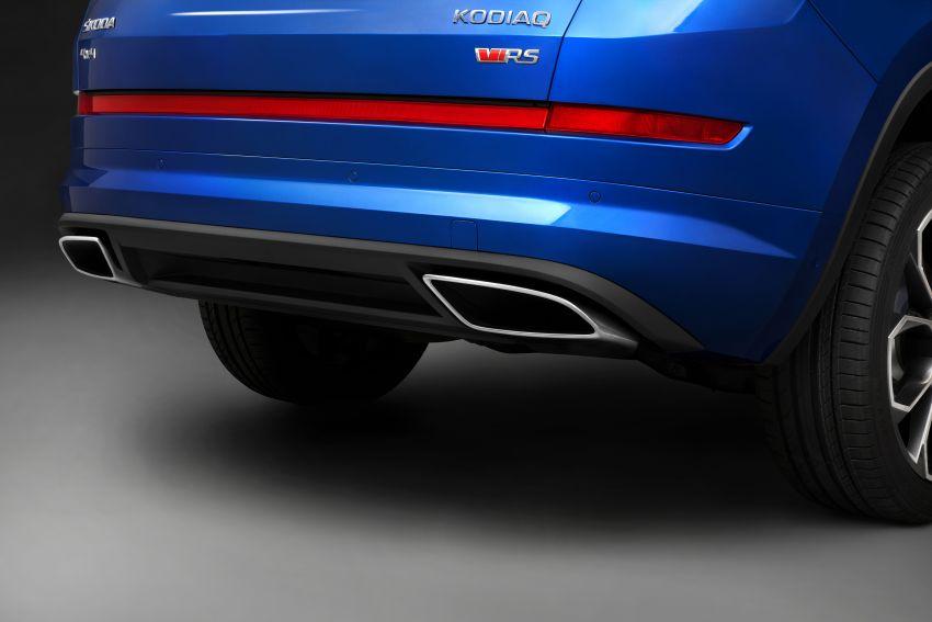 Skoda Kodiaq RS – SUV 7-tempat duduk paling pantas di Nurburgring, 2.0L diesel twin turbo, 240 PS/500Nm Image #867034