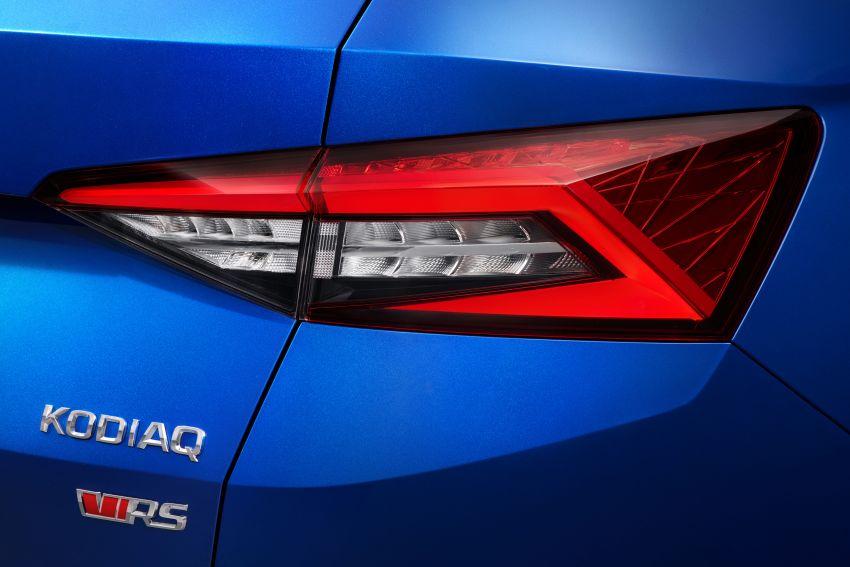 Skoda Kodiaq RS – SUV 7-tempat duduk paling pantas di Nurburgring, 2.0L diesel twin turbo, 240 PS/500Nm Image #867033